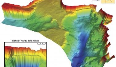 Cabinet Gorge Reservoir Bathymetric Survey