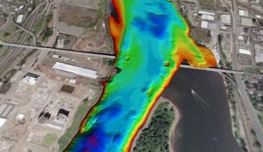 Zidell South Waterfront Remediation Multibeam Survey