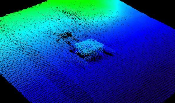 Almaden Reservoir Multibeam Condition Survey