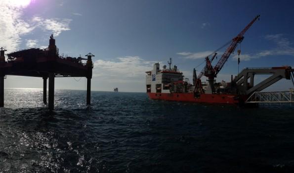 August, 2013:  North Sea, Dutch Sector